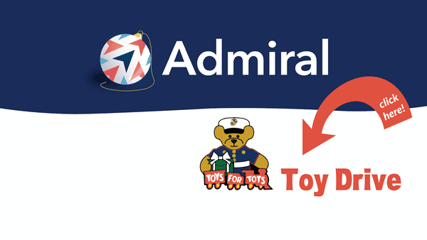 Admiral Annual Toys for Tots Donation Drive