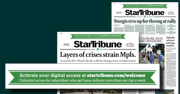 digital subscription campaign star tribune