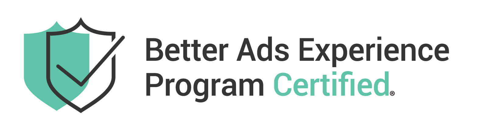 CBA Better Ads Experience Program Certified Badge